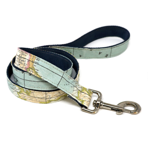Twist mapamundi leash nylon-Prints-Biozoo-1,5 * 100 cm-Biozoopets