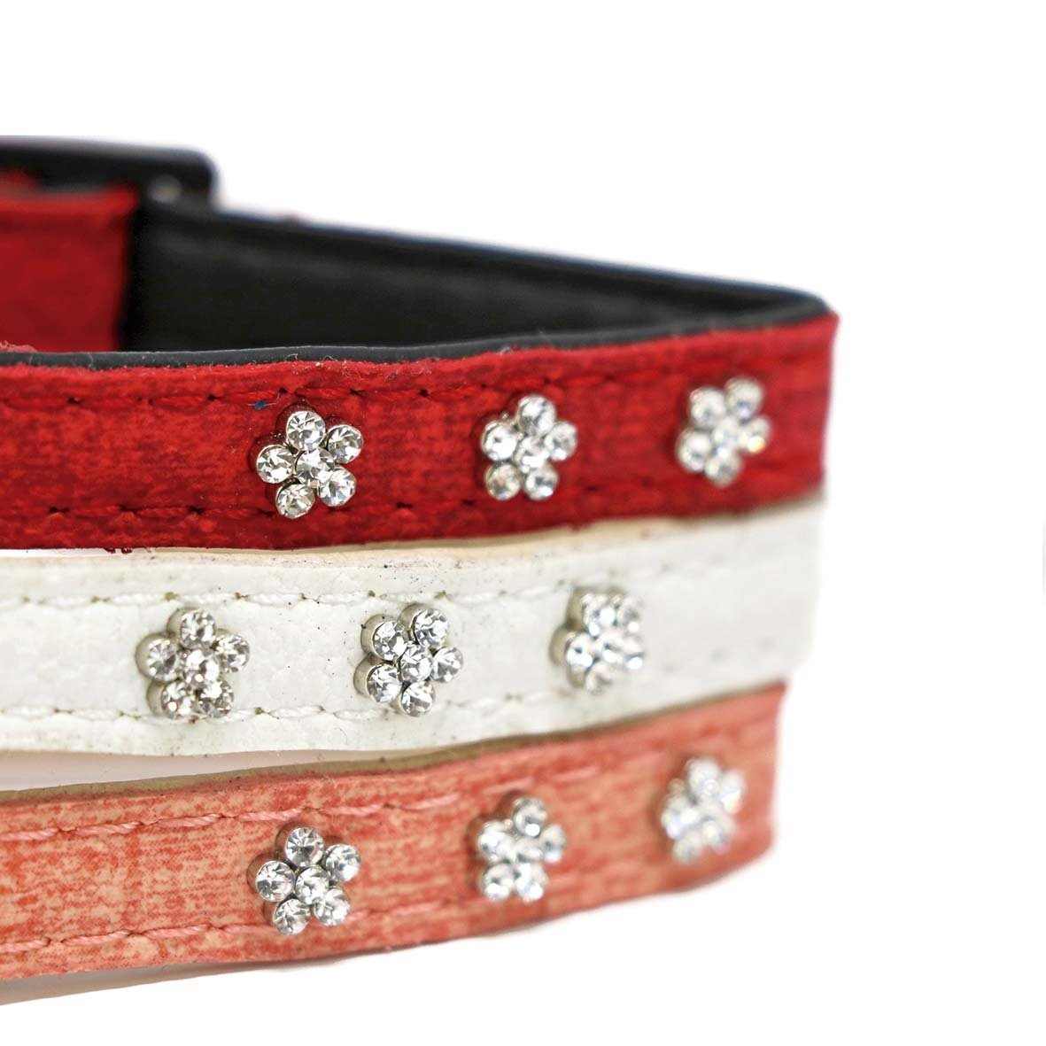 White Special Cat Collar-Collars-Biozoo-Red-Biozoopets