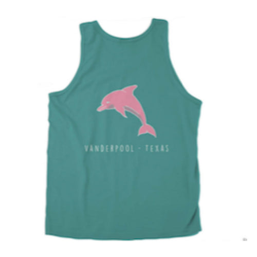 Pink River Dolphin Tank