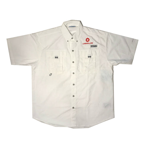 Columbia Fishing Shirt (Red)
