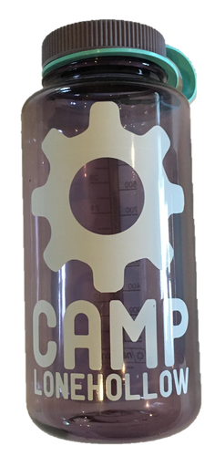 Camp Lonehollow Nalgene Water Bottle