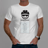 Race Plan - Casual Cyclist T-Shirt