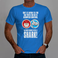 A Baby Shark Is Still A Shark - Casual Cyclist T-Shirt