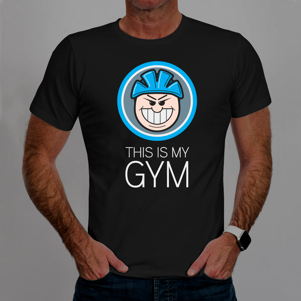 This Is My Gym - Casual Cyclist T-Shirt