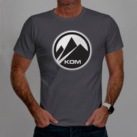 King Of The Mountain - Casual Cyclist T-Shirt