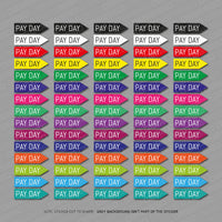 Work Life Flags - Planner Diary Calendar Scrapbooking Stickers -  - OBSESSO - www.obsesso.co.uk