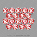 Christmas Presents Stickers - Do not open till 25th Dec - Approved By Santa etc - Stickers - OBSESSO - www.obsesso.co.uk