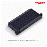 Trodat 6/4913 Ink Pads For 4913 Stamp