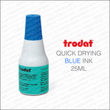Trodat 7021 Quick Dry Ink - 25ML Bottle - Ink Bottles - OBSESSO - www.obsesso.co.uk