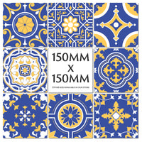 Traditional Moroccan Tile Stickers Decals Transfers