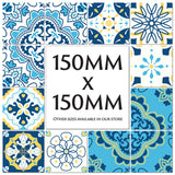Traditional Portuguese Azulejo Tile Stickers