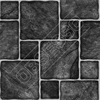 Mosaic Tile Stickers - Grey - Marble - Slate - Glass Effect