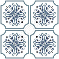 Traditional Tile Stickers Vintage Transfers Victorian Moroccan