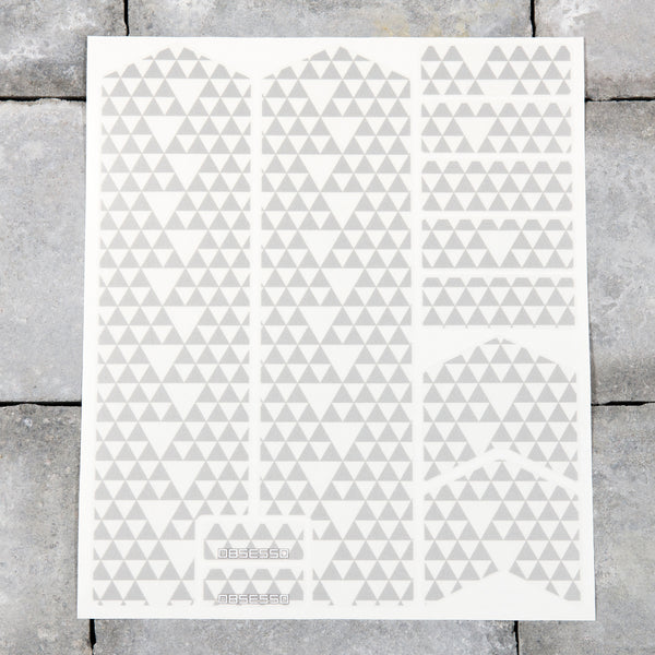 Bicycle Fork Protection Stickers - Graffiti Patterns