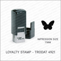 Loyalty Card Stamp - Butterfly - Trodat 4921 - Stamp - OBSESSO - www.obsesso.co.uk