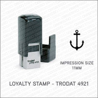 Loyalty Card Stamp - Anchor - Trodat 4921 - Stamp - OBSESSO - www.obsesso.co.uk