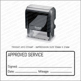 Garage Mechanic/Home Service Rubber Stamp - Trodat 4913 - Stamp - OBSESSO - www.obsesso.co.uk