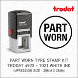 Part Worn Tyre Marking Kit - Self Inking Rubber Stamp Trodat 4923 - Stamp - OBSESSO - www.obsesso.co.uk
