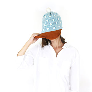 Dotty Hat - soft knitted Lambswool hat