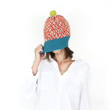 Long piece of String Hat - soft knitted Lambswool hat