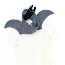 Bat Scarf - soft knitted Lambswool scarf