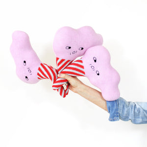 Cotton Candy - Lambswool knit toy