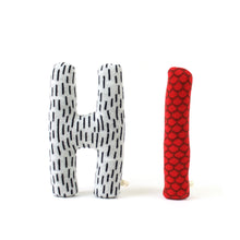 Hi Letters Lambswool pillow