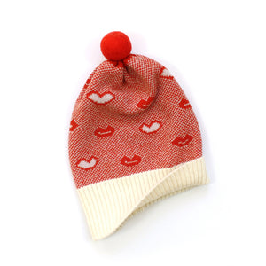 Kissy Hat - soft knitted Lambswool hat