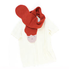 Messy Hair Sally Scarf - soft knitted Lambswool scarf