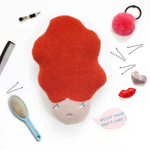 Messy Hair Sally - Lambswool knit toy