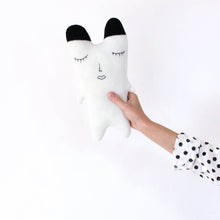 Polar Bear - Lambswool knit toy
