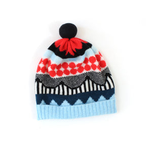Railroads Hat - soft knitted Lambswool hat