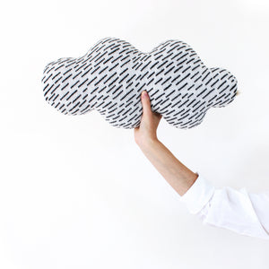 Rainy Cloud pillow - lambswool cushion