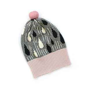 Rainy Hat - soft knitted Lambswool hat