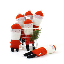 Santa Toy - Lambswool knitted plush