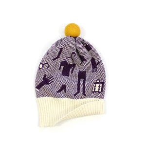 Winter Essentials Hat - soft knitted Lambswool hat