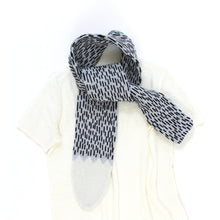 Wolf Tail Scarf - soft knitted Lambswool scarf