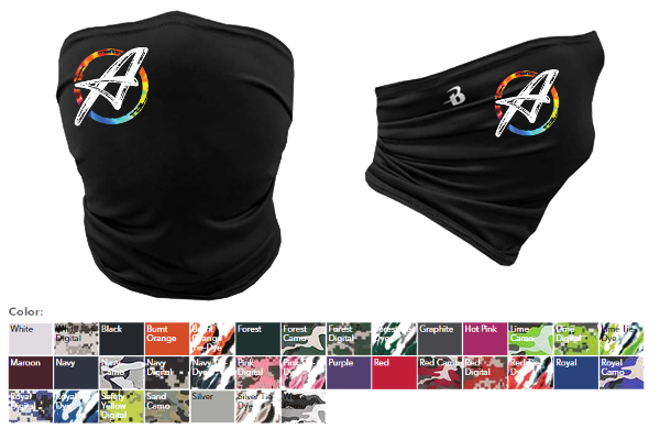 Picture of Gaiter Masks by ArtRageous Apparel.
