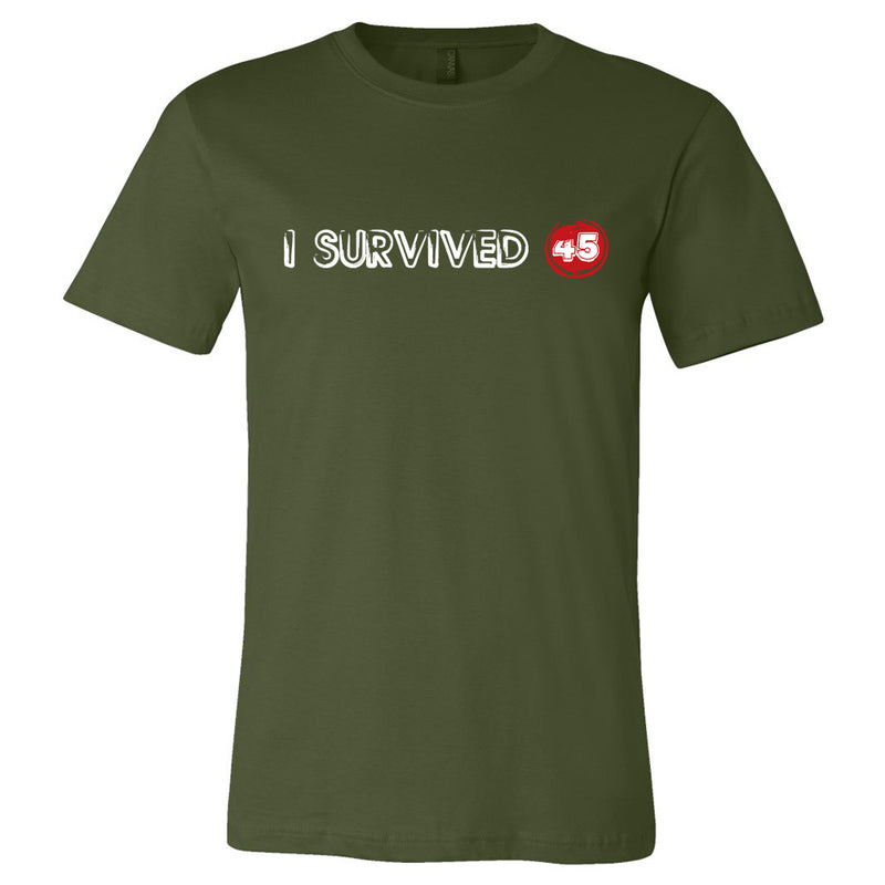I Survived 45 Tshirt- Decorated in USA