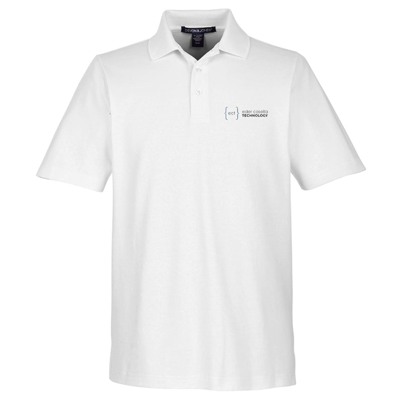 Men's CrownLux Performance™ Plaited Polo