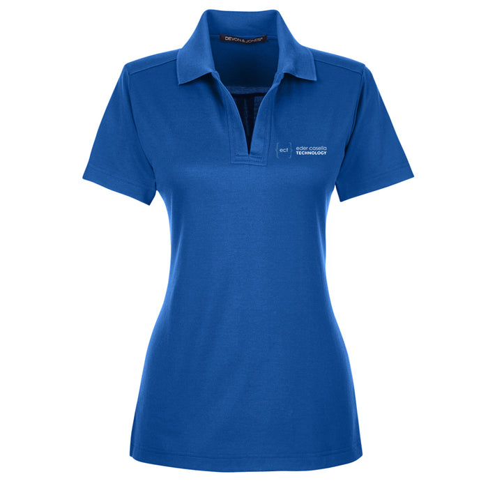 Ladies' CrownLux Performance™ Plaited Polo