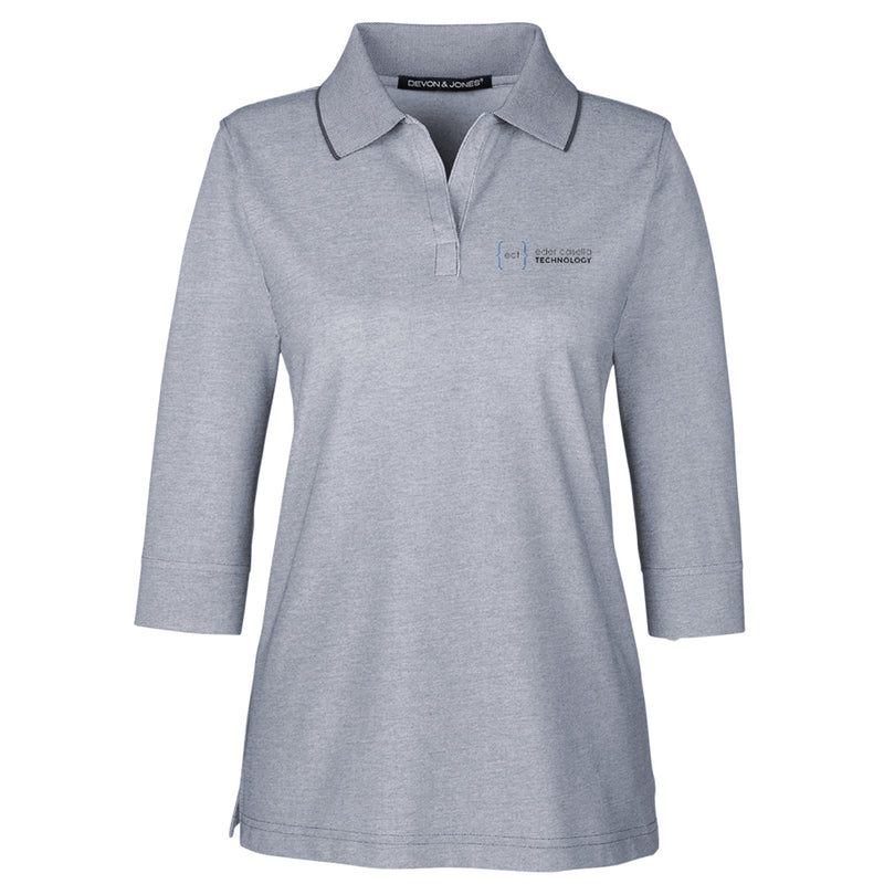 Ladies' Pima-Tech™ Oxford Piqué Polo