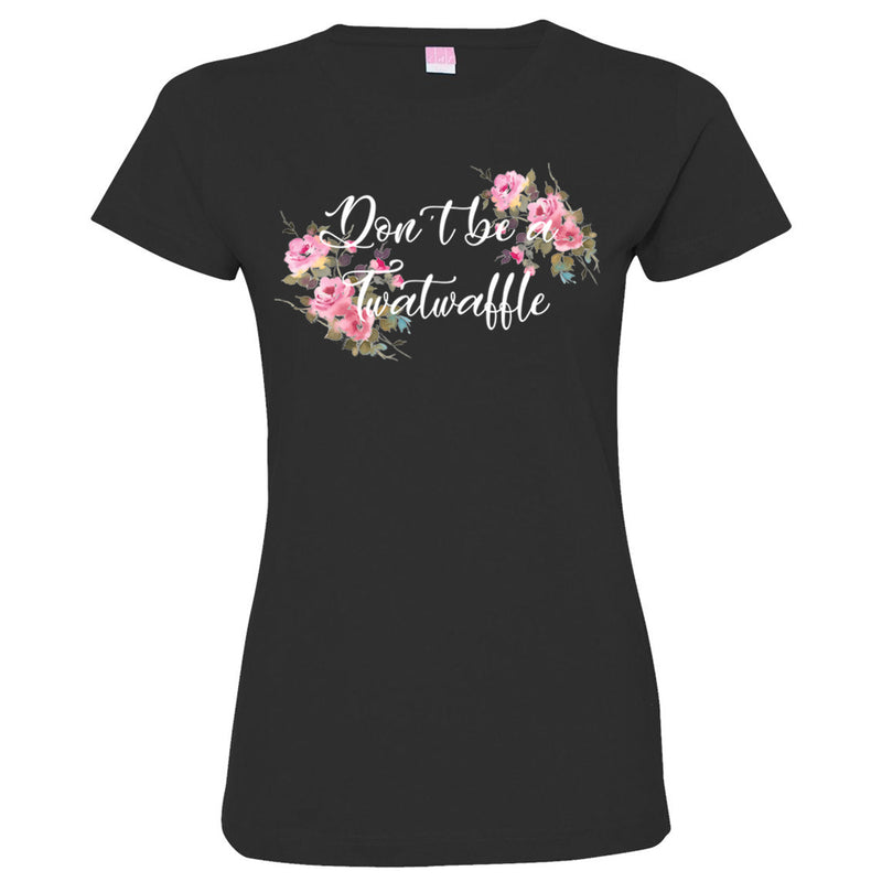 Twatwaffle Ladies Short Sleeve Tshirt