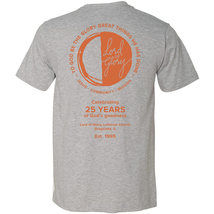 Adult Short Sleeve 25th Anniversary T-Shirt