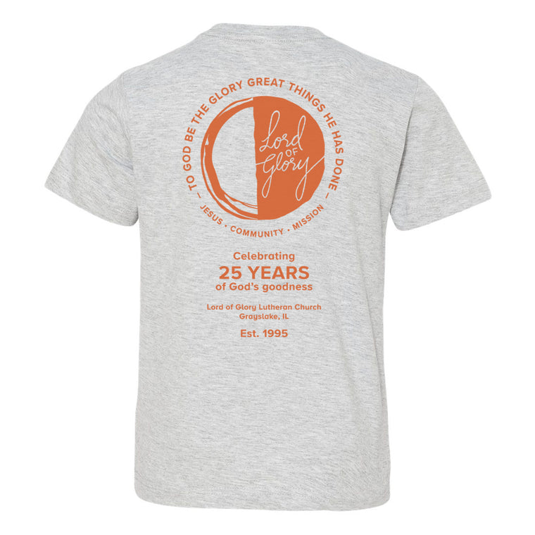Youth Short Sleeve 25th Anniversary T-Shirt