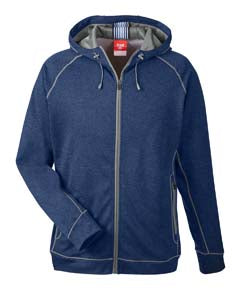 Mens Melange Performance Fleece Jacket