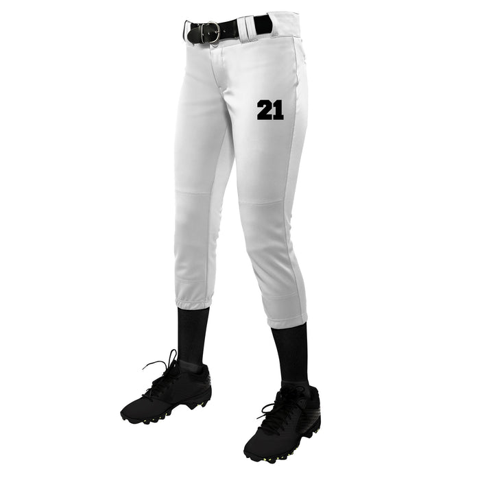 TOURNAMENT WOMEN'S TRADITIONAL LOW-RISE PANT w/ TT Number