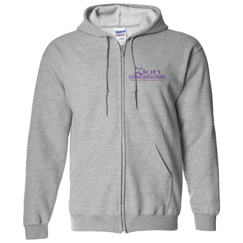 Adult Zip Up Hoodie