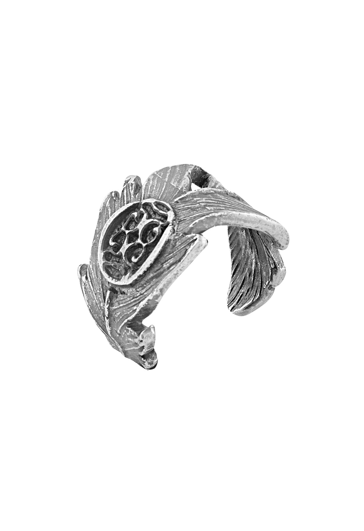 Anillo Pluma Middle Ring Native