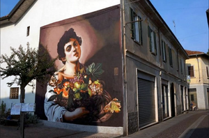 Across the Buildings of Italy, Contemporary Street Artist Redefines Classical Art